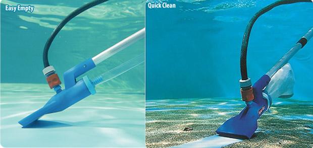 Supavac Underwater Vacuum Venturi Pump w 12m Telescopic Pole