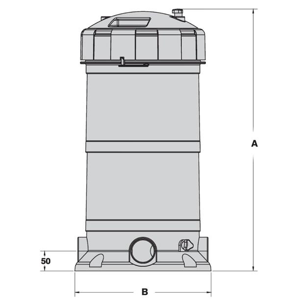 Hurlcon Zx100 Cartridge Filter