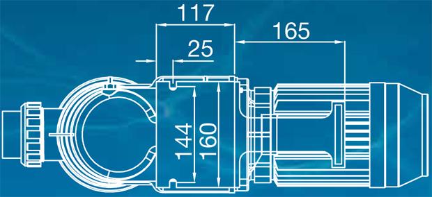 Waterco Supatuf Eco 100 3 Speed Energy Efficient Pool Pump