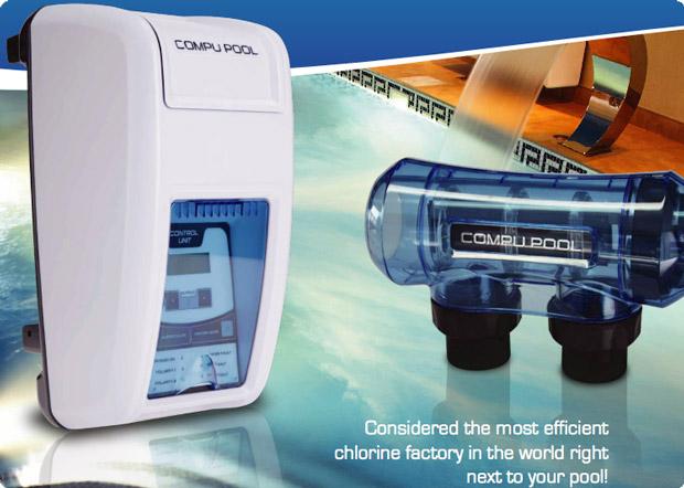 Compu Pool Cpcs16 Salt Water Chlorinator