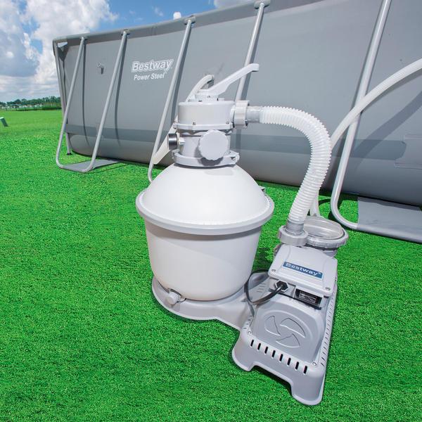 Bestway 1000gal 3 785l Flowclear Sand Filter Pump For