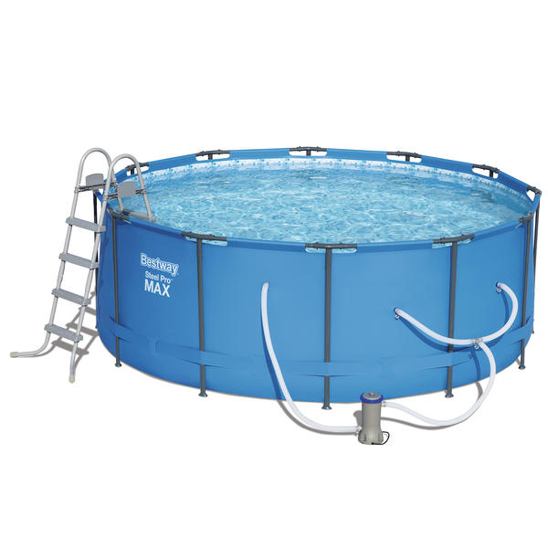How to vacuum above ground pool with cartridge filter