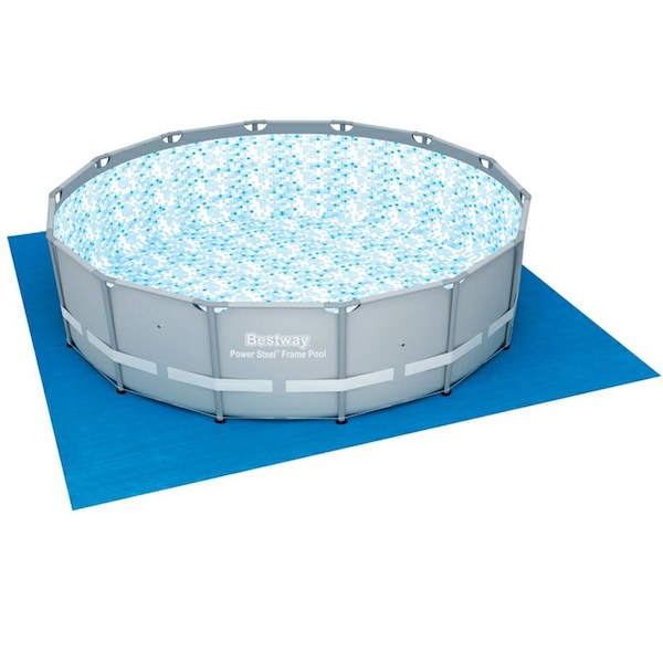 Bestway 4 27m X 1 07m Power Steel Frame Pool With 1000gal