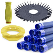 Baracuda Overhaul Kit Genuine - Disc, Flexi Foot, 10 x 1m Hose, Diaphragm w. Retaining Ring