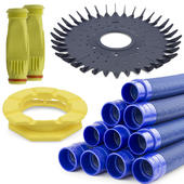 Baracuda Overhaul Kit 2 Genuine - Disc, Flexi Foot, 10 x 1m Hose, 2 x Diaphragm w. Retaining Ring