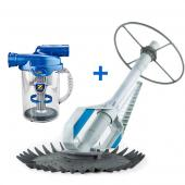 Baracuda Aquasphere Pool Cleaner + Zodiac Cyclonic Leaf Catcher