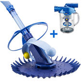 Zodiac G1 Pool Cleaner - ( New & Improved Baracuda G2 ) + Cyclonic Leaf Catcher