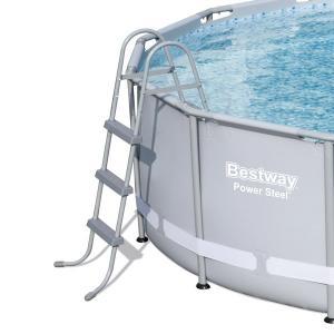 Bestway x power steel frame pool with 1000gal - Bestway power steel frame pool ...