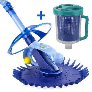 Zodiac Pacer Pool Cleaner + Inline Leaf Canister