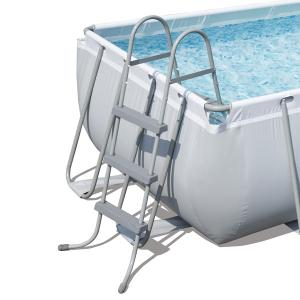 Bestway 4 04m X 2 01m X 1m Power Steel Frame Pool With