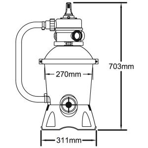 Hayward Backwash Diagram as well Bestway 530gal 2 006L Flowclear Sand Filter Pump additionally Product in addition  on intex pool filter cartridge c