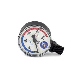 Pressure Gauge For Pool Filters  - Plastic - Lower Mount